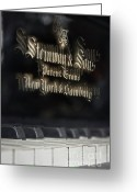 2nd Greeting Cards - Steinway Original Grand Greeting Card by Vicki Ferrari