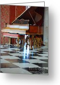 Steinway  Greeting Cards - Steinway Greeting Card by Robert Meanor