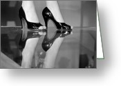 Fashion Model Photography Greeting Cards - Stiletto Heels Greeting Card by Carl Sutton