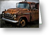 Antique Truck Greeting Cards - Still Going Greeting Card by Bill Cannon
