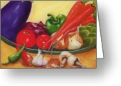 Food And Beverage Greeting Cards - Still Life 4 Greeting Card by Joni McPherson