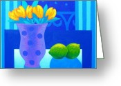 Still Life Greeting Card Greeting Cards - Still Life At Window III Greeting Card by John  Nolan