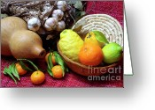 Nourishment Greeting Cards - Still-life Greeting Card by Carlos Caetano
