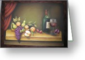 Relief Work Greeting Cards - Still life in 3-D relief work Greeting Card by Prity Jain
