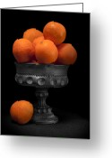 Oranges Greeting Cards - Still Life with Oranges Greeting Card by Tom Mc Nemar