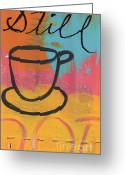 House Greeting Cards - Still Greeting Card by Linda Woods