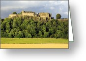 Defence Greeting Cards - Stirling Castle, Scotland, Uk Greeting Card by Duncan Shaw