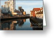Maltings Greeting Cards - Stokebridge maltings Greeting Card by Andrew  Michael