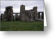 National Treasure Greeting Cards - Stonehenge Greeting Card by Robert  Torkomian