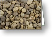 Stack Rock Greeting Cards - Stones Greeting Card by Blink Images