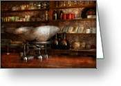 Sold Greeting Cards - Store - A place for everything  Greeting Card by Mike Savad