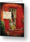 Establishment Greeting Cards - Store - Strausburg PA - Thistle and Vine Greeting Card by Mike Savad
