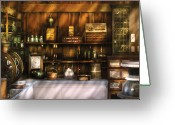 Sell Greeting Cards - Store -  The General Store  Greeting Card by Mike Savad