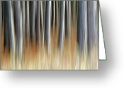 Abstract Impressionism Photo Greeting Cards - Stories to Tell Greeting Card by Bill Morgenstern
