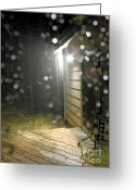 Hail Photo Greeting Cards - Storm 022812 Greeting Card by Fred Lassmann