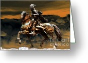 Armor Greeting Cards - Storm Bringer Greeting Card by David Lee Thompson