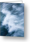 Sea Greeting Cards - Storm Driven Greeting Card by Mike  Dawson