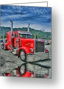 Truck Shows Greeting Cards - Storm Rider Greeting Card by Randy Harris