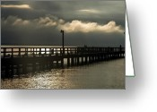 Clayton Photo Greeting Cards - Storms Brewin Greeting Card by Clayton Bruster
