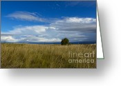  Beve Brown-clark Greeting Cards - Storms End Greeting Card by Reflective Moments  Photography and Digital Art Images