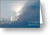 Storm Digital Art Greeting Cards - Storms Over Greeting Card by Robert Pearson