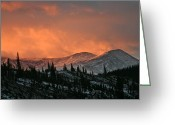 Bob Berwyn Greeting Cards - Stormy Skies Greeting Card by Bob Berwyn