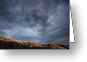 U.s. National Forest Greeting Cards - Stormy Sky Clearwater NF Idaho Greeting Card by Gerry Ellis