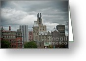 Rochester Ny Greeting Cards - Stormy Wings Greeting Card by Ken Marsh