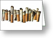 Cigarette Greeting Cards - Street Finds 1 Greeting Card by Michael Kraus