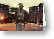 Queensbridge Greeting Cards - Streets Of Iraq Greeting Card by Tuan HollaBack