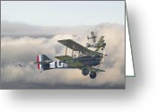 Military Aircraft Greeting Cards - Strike Greeting Card by Pat Speirs