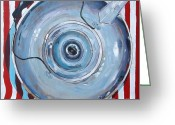 Teapot Greeting Cards - Strong And Stout Greeting Card by Micheal Jones