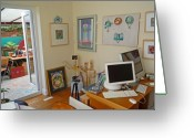 Imac Greeting Cards - Studio Still Greeting Card by Charles Stuart