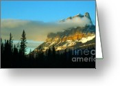 Mario Brenes Simon Greeting Cards - Stunning Mountain Greeting Card by Mario Brenes Simon
