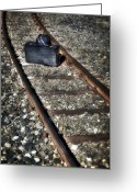 Railroad Track Greeting Cards - Suitcase And Hats Greeting Card by Joana Kruse