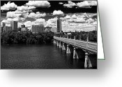 Richmond Greeting Cards - Summer Day in River City Greeting Card by Tim Wilson