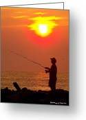 Glenn Mccurdy Greeting Cards - Summer Dream Greeting Card by Glenn McCurdy