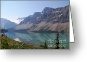 Rock Walls Greeting Cards - Summer Reflections Greeting Card by Greg Hammond