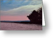 Summers Greeting Cards - Summers Eve Greeting Card by Kenneth M  Kirsch