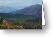 Appalachian Mountains Greeting Cards - Summers Retreat Greeting Card by Susan Jenkins