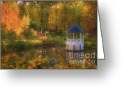 Shed Greeting Cards - Summers Whisper Greeting Card by Joann Vitali