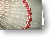 Big Wheel Greeting Cards - Summertime Fun Greeting Card by Christina Klausen