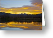 Bob Berwyn Greeting Cards - Summit Sunrise Greeting Card by Bob Berwyn