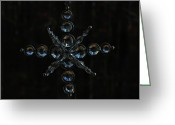 Glass Beads Greeting Cards - Sun Caught Greeting Card by Valerie Rakes