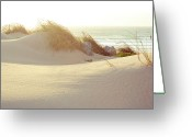 Dusk Greeting Cards - Sun On Beach Greeting Card by Guillermo Casas Baruque