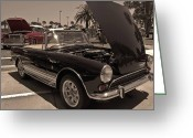 Carroll Shelby Photo Greeting Cards - Sunbeams on a Sunbeam Greeting Card by DigiArt Diaries by Vicky Browning