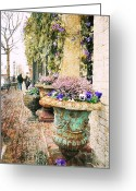 Sharon Obrien-huey Greeting Cards - Sunday In Alexandria Greeting Card by Sharon OBrien-Huey