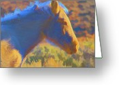 Willows Digital Art Greeting Cards - Sunday morning at the Red willows Greeting Card by Charles Muhle