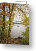 Sportsmen Greeting Cards - Sunday morning Greeting Card by Bill  Wakeley