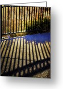 Abstract Greeting Cards Greeting Cards - Sundays Walks Greeting Card by Jerry Cordeiro